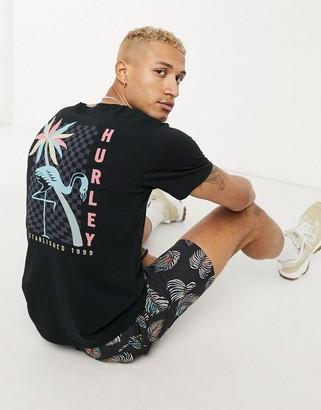 Hurley Mingo t-shirt in black
