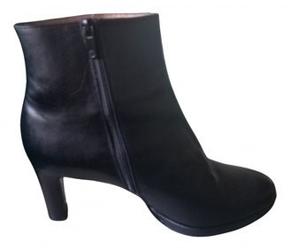 Peter Kaiser Black Leather Boots