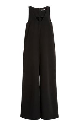 Sandy Liang Women's Carol Wide Leg Jumpsuit - Black - Moda Operandi