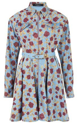 Versace Shirt dress with floral print