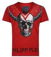 Philipp Plein Embellished Triangles T-shirt