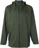 Rains hooded windbreaker jacket - men - Polyester/Polyurethane - L/XL