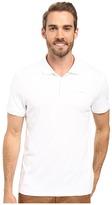 Calvin Klein Short Sleeve Interlock Polo