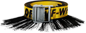 Off-White Men's Artisan Industrial Belt w/ Fringe Trim