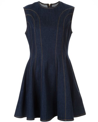 Karen Walker Sleeveless Short Dress