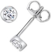 Sirena Diamond Stud Earrings (1/4 ct. t.w.) in 14k White Gold