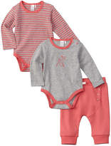 Petit Lem Girls' 3Pc Bodysuit Set