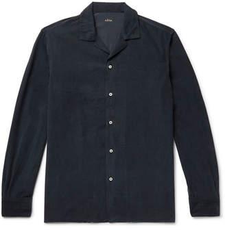 Altea Baker Camp-Collar Cotton-Corduroy Shirt