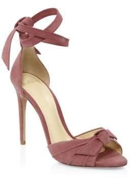 Alexandre Birman Clarita Suede High Heel Sandals