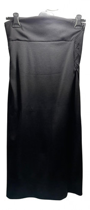 Bottega Veneta Black Wool Dresses
