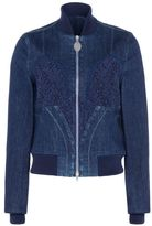 Stella McCartney denim lace jacket