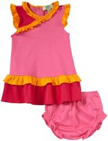 Kissy Kissy QT Summer Solids Dress (Baby) - Fuchsia-3-6 Months