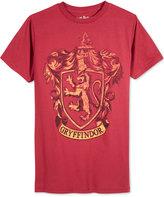 Bioworld Men's Harry Potter Gryffindor Crest T-Shirt