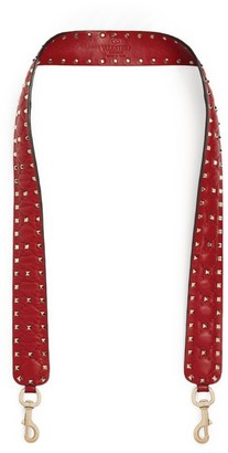 Valentino Garavani Leather Rockstud Bag Strap