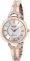 Burgi Women's BUR105RG Analog Display Swiss Quartz Rose Gold Watch