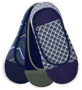 Sperry Three-Pack Micro Skimmer Jacquard Shoe Liners