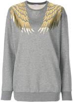 RED Valentino wing print sweatshirt