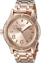 Nixon Women's A410897 38-20 Analog Display Japanese Quartz Rose Gold Watch