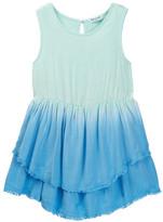 Splendid Sleeveless Dip Dye Dress (Little Girls)