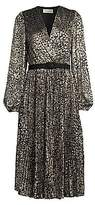 Rebecca Vallance Women's Vienna Leopard Print Midi Dress