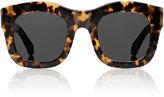 Illesteva Women's Hamilton Sunglasses-BROWN, NO COLOR