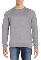 J. Lindeberg Quilted Cotton Jersey Sweater