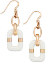 Charter Club Resin Rectangular Drop Earrings, Only at Macy's