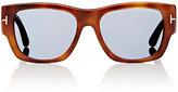 Tom Ford Men's Stephen Sunglasses-BLUE