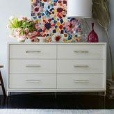 west elm City Storage 6-Drawer Dresser - White