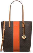 MICHAEL Michael Kors Hayley Large North-South Center Stripe Tote Bag
