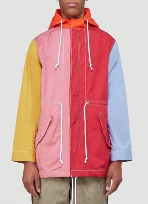 Comme des Garçons Shirt Colour Block Parka