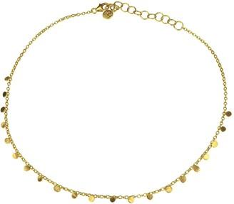 Yvonne Henderson Jewellery Tiny Dot Gold Choker Necklace