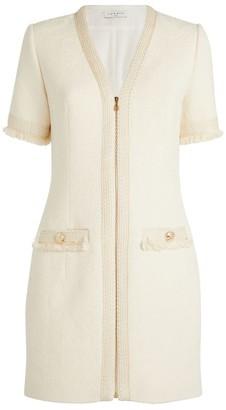 Sandro Tweed Mini Dress