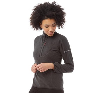 Berghaus Womens Spectrum Micro 2.0 1/2 Fleece Black/Black