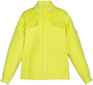 Valentino Shirt Jacket in Yellow Fluo | FWRD