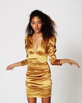 Nicole Miller Ricci Satin Dress