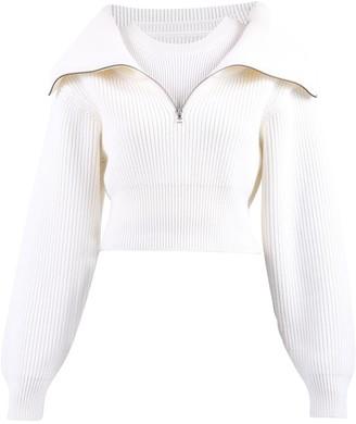 Jacquemus Risoul Zipped Sweater