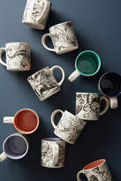 Salt and Earth Ceramics by Malia Landis Astrology Chart Mug