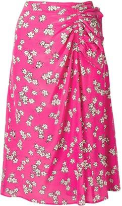 P.A.R.O.S.H. Floral Print Skirt