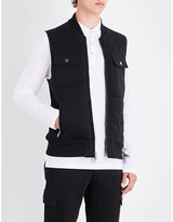 Michael Kors Regular-fit Knitted Quilted Gilet