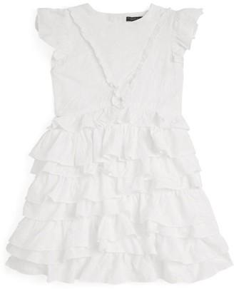 Velveteen Geena Tiered Ruffle Dress (3-6 Years)