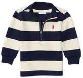 Ralph Lauren Baby Boys Striped Long Sleeve Sweatshirt
