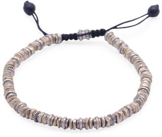 Jonas Studio Flatiron Sterling Silver Beaded Bracelet