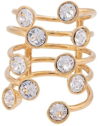 Thierry Mugler Embellished Detail Ring