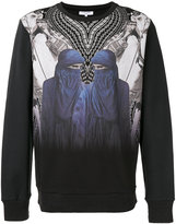 Les Benjamins mirror print sweatshirt - men - Cotton - S