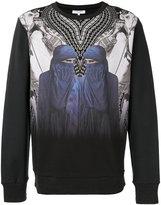 Les Benjamins mirror print sweatshirt