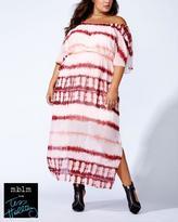 Penningtons Tess Holliday - Off Shoulder Printed Maxi Dress