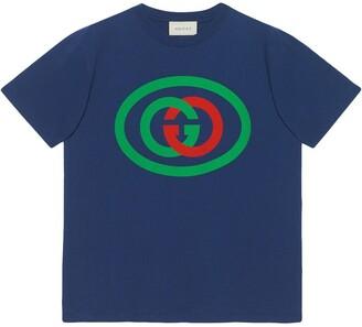 Gucci Oversize T-shirt with Interlocking G