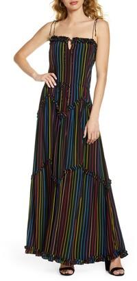 S/W/F Rapture Dynamic Maxi Dress