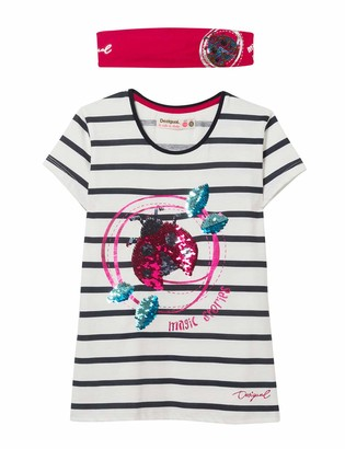 Desigual Girls Ts/_Liverpool T-Shirt